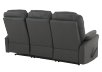 Fabric Reclining Sofa - Dark Grey product photo other08 S