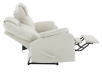 Reclining Loveseat with Genuine Leather Seats - Ivory product photo other05 S