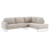 Fabric Sectional Sofa - Grey product photo other01 S