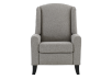 Fabric Recliner - Grey product photo