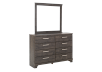 Bedroom Set - Brown Grey - Queen Size product photo other04 S