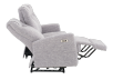 Reclining Electric Fabric Sofa - Grey product photo other05 S