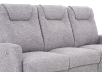 Reclining Electric Fabric Sofa - Grey product photo other06 S
