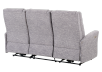Reclining Electric Fabric Sofa - Grey product photo other08 S