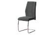 Chair with Metal Legs - Dark Grey and Silver Grey product photo