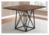 Table with Metal Legs - Beige and Black product photo other01 S