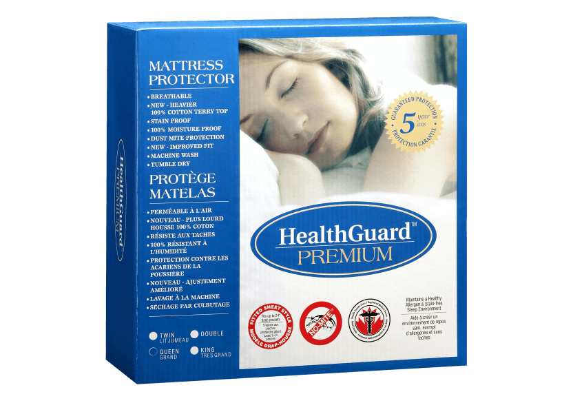 Protège matelas Grand lit Queen - Premium Terry Magi Seal photo du produit Front View L