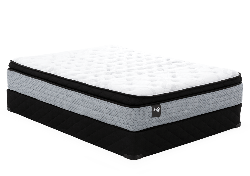 "Ensemble matelas et sommier 2 places Double 5"" - Rochefort Sealy photo du produit Front View L"