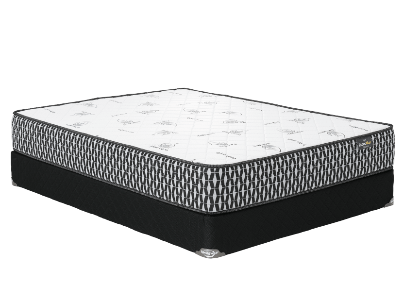 "Ensemble matelas et sommier 2 places Double 6"" - Flaubert Springwall photo du produit Front View L"