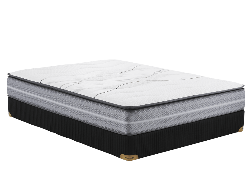 "Ensemble matelas et sommier grand lit Queen 3"" - Juliette2 Primo Matelas photo du produit Front View L"