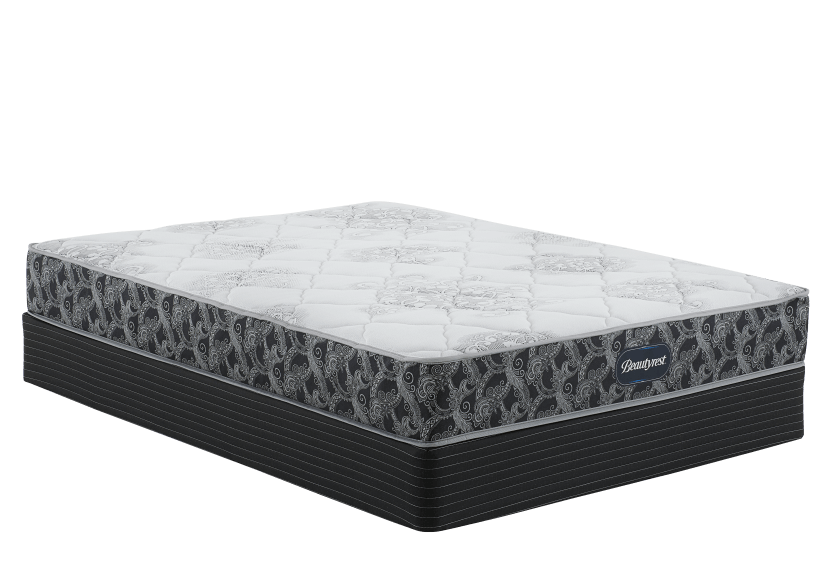"Ensemble matelas et sommier grand lit Queen 5,5"" - Gilmour TT Simmons photo du produit Front View L"