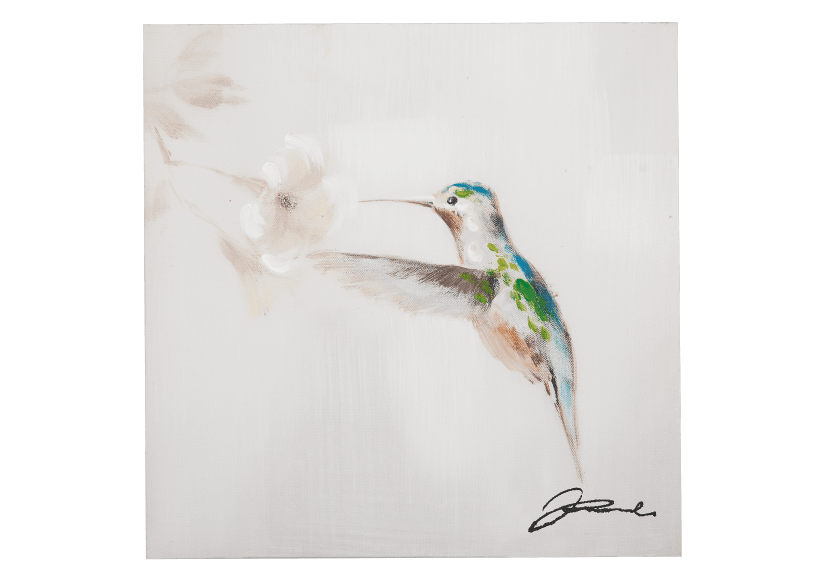 Tableau colibri 12X12po photo du produit Front View L
