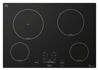 "Plaque de cuisson à induction de 30"" - Whirlpool GCI3061XB photo du produit"