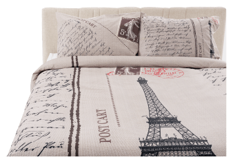 Ensemble de douillette beige - Grand lit Queen photo du produit