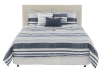 Ensemble de douillette bleu et beige - Grand lit Queen photo du produit other02 S