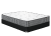 "Ensemble matelas et sommier 2 places Double 6"" - Flaubert Springwall photo du produit Front View S"